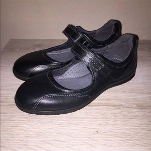 ECCO Black Mary Jane Shock Point Comfort Shoes 35